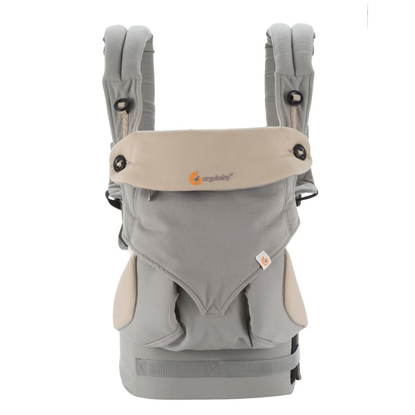 Ergobaby 360 four position carrier. Front view.