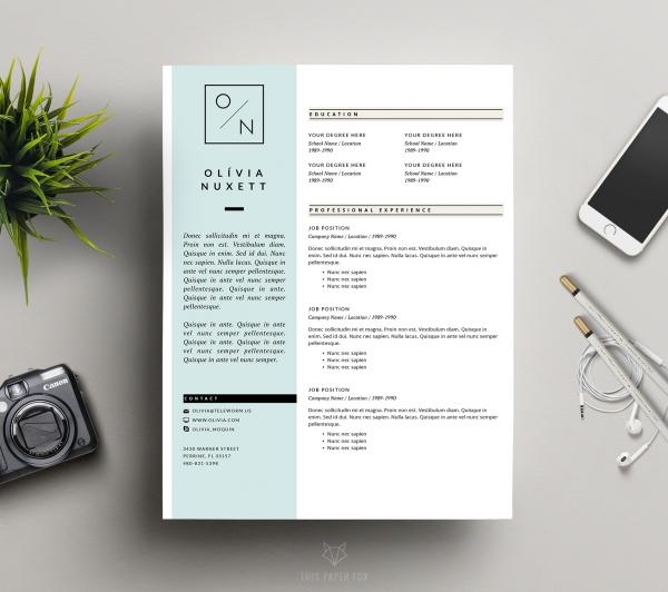 design graphique cv