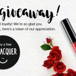 HURRY!!  FREE Kiss Red Lip Lacquer!!