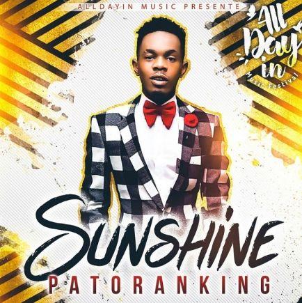 Patoranking Sunshine download
