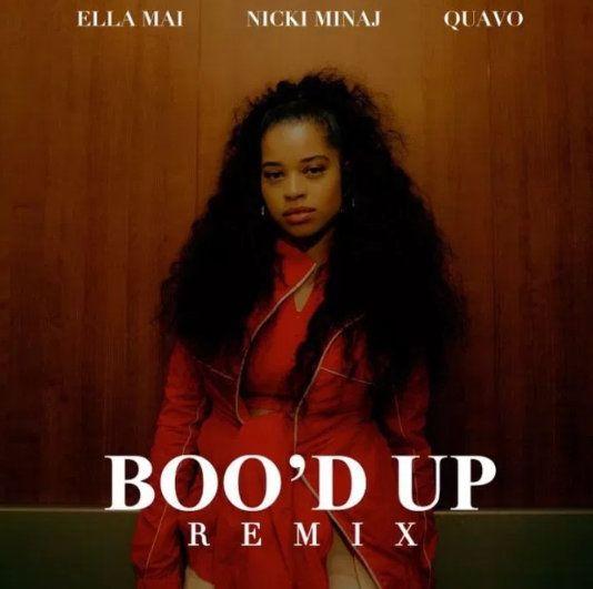 Ella Mai – Boo'd Up Remix Lyrics Ft. Nicki Minaj & Quavo