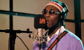 Burna Boy Behind Barz Freestyle mp3 download
