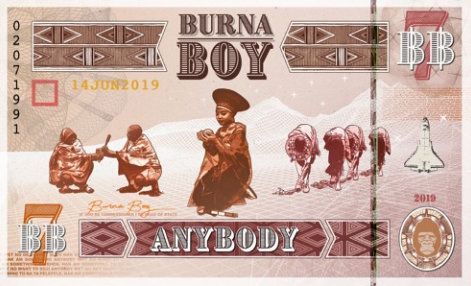 Burna Boy Gum Body Lyrics