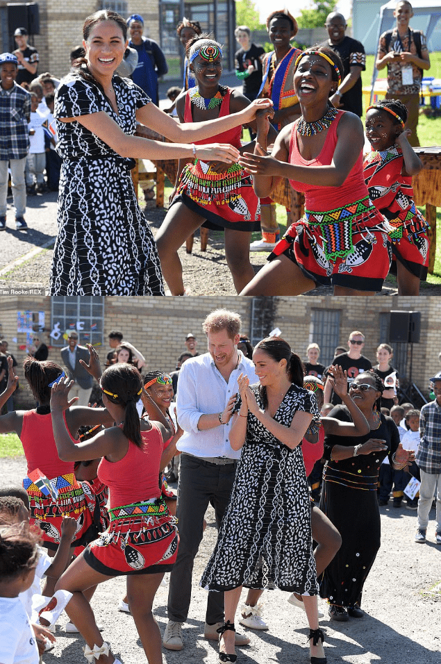 Harry and Meghan south african visit2
