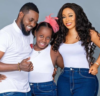 Nigerian Comedian, AY and wife, Mabel Celebrate 11th Wedding Anniversary (Photo)
