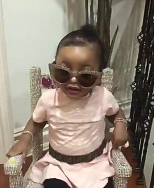 "Cardi B Slams Twitter User Who Said Her Daughter, Kulture isn't ""That Cute"""