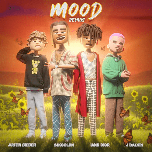24kGoldn, Justin Bieber, J Balvin & iann dior – Mood (Remix)