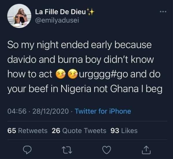 Burna Boy and Davido allegedly fight at Ghanaian nightclub (video)