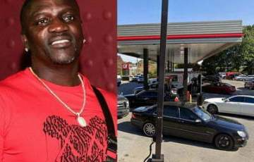 Akon's Range Rover stolen at a gas stations