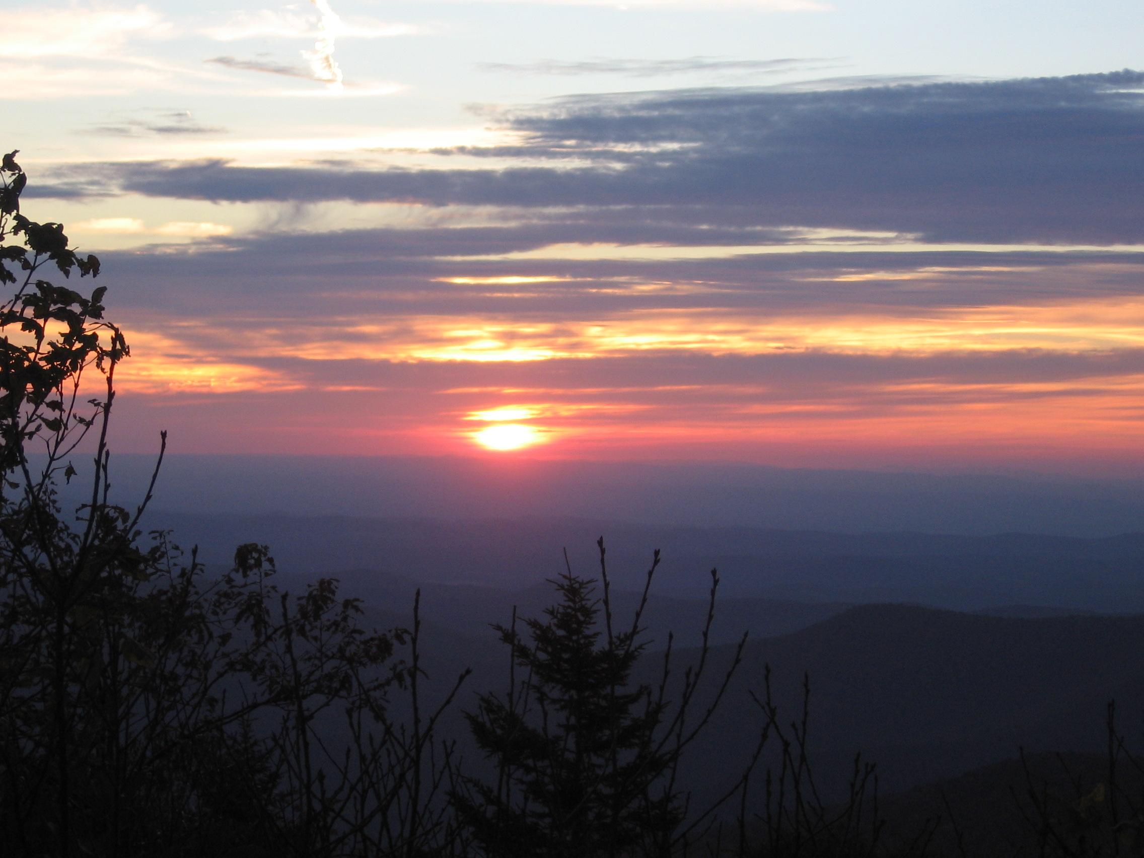 Mount Equinox sunset