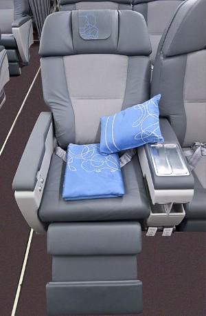 New Iberia Business Class seat