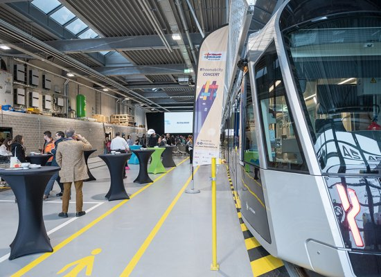 Tram in Luxembourg