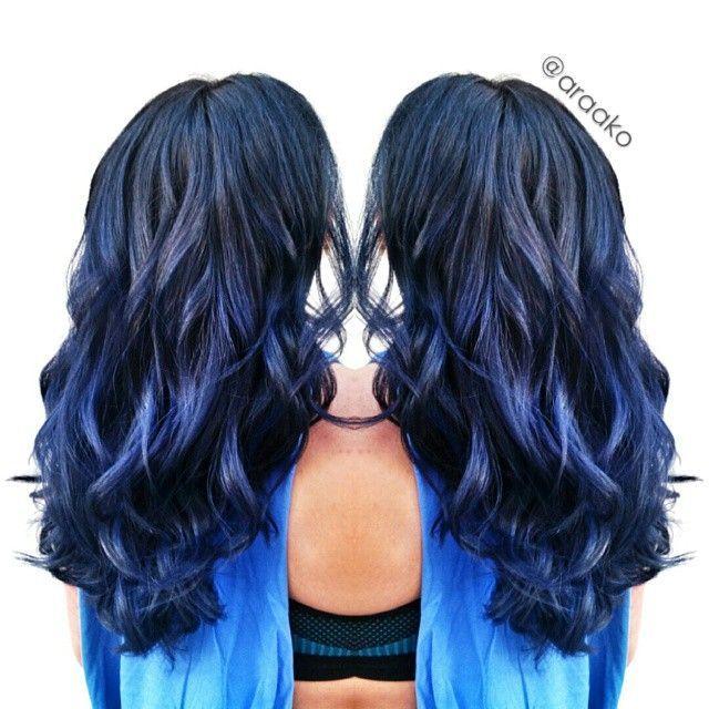 Ion Semi Permanent Hair Color Midnight Blue Black Hairsjdi Org