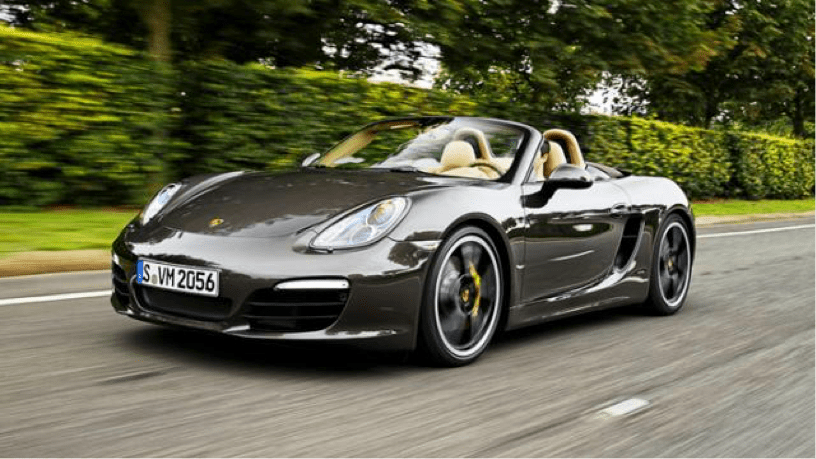 Photo Credit: Porsche Boxster