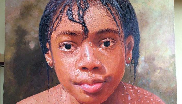 Photo Credit: Oresegun Olumide Nigerian Artist - Oil Canvass