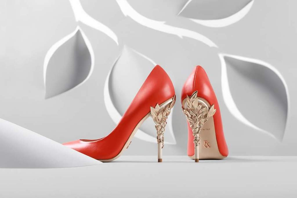 The Baroque shoe by Ralph & Russo