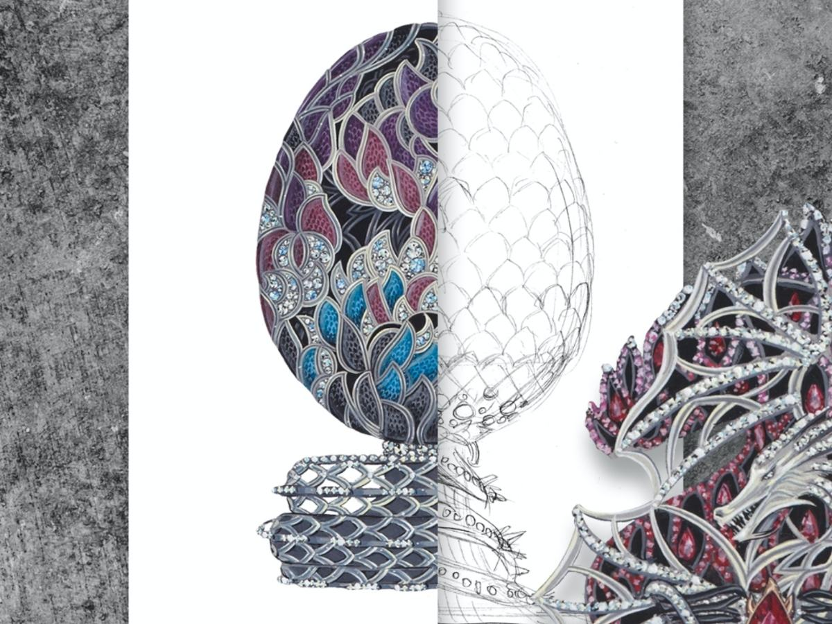 Imperial Class Fabergé Game of Thrones Egg