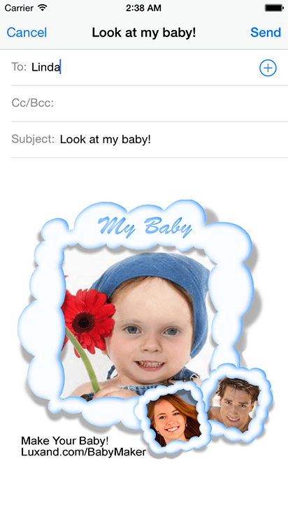Morphing Baby Maker : morphing, maker, BabyMaker, Funny, Parents', Pictures