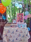 #sailor #nautical temalı #dogumgunu partisi #birthdayparty #firstbirthday