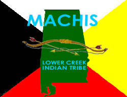 Ma-Chis Lower Creek Indian Tribe of Alabama Crest