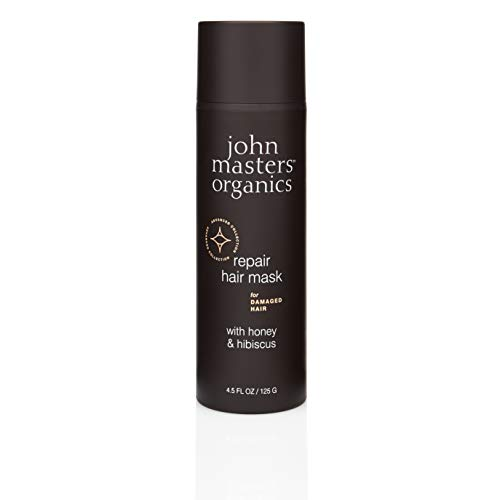 John Masters Organics - Hair Mask for Damaged Hair with Honey & Hibiscus