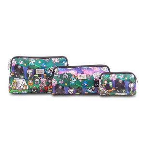JuJuBe x Tokidoki Travel Bags, Be Set | Cosmetic Travel Toiletry Bag Set