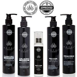 Complete Curly Hair Products Set by Royal Locks Two Curl Creams