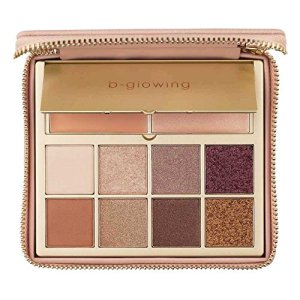 b-glowing Illuminate + Shine Eyeshadow Palette 8 Matte and Shimmer Colors