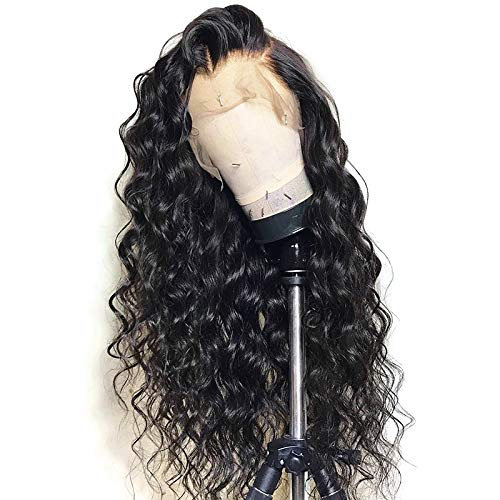 Loose Wave Wig Pre-plucked Hairline Human Hair Lace Front Wigs