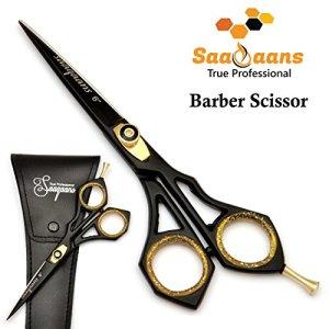 Saaqaans Professional Hairdressing Barber Scissor - Stainless Steel