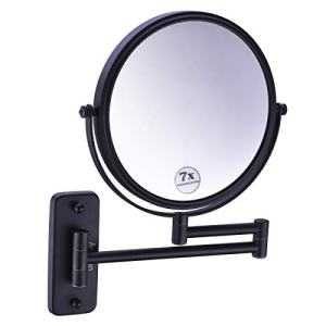 Anpean 8 Inch Double-Sided Swivel Wall Mounted Makeup Mirror