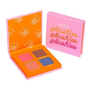 Lime Crime Plushies Pressed Pigment Eyeshadow Quad Makeup Palette