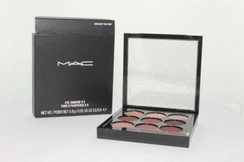 MAC Eye Shadow X 9 Palette - Burgundy Times Nine