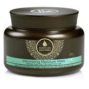 Moroccan Gold Series Argan Volumizing Moisture Mask