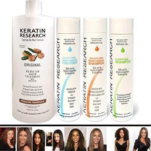 Brazilian Keratin Blowout Straightening Smoothing Hair Treatment