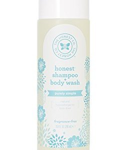 The Honest Company Purely Simple Fragrance-Free Shampoo + Body Wash