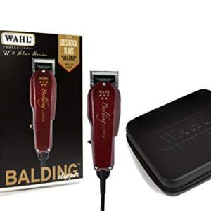 Wahl Professional 5-Star Balding Clipper with Travel Storage Case