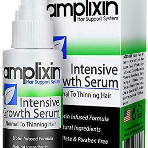 Amplixin Intensive Biotin Hair Growth Serum - Hair Loss Prevention Treatment