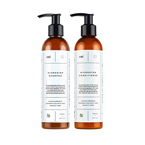 CEL MD Stem Cell Hair Growth Thickening Shampoo and Conditioner Set