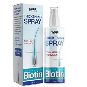 Biotin Thickening Spray for Fine Hair Growth Serum Hair Loss Prevention
