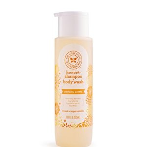The Honest Company Perfectly Gentle Sweet Orange Vanilla Shampoo + Body Wash