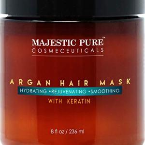 MAJESTIC PURE Argan Hair Mask with Keratin - Rejuvenating