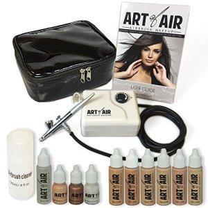 Art of Air Professional Airbrush Cosmetic Makeup System/Fair