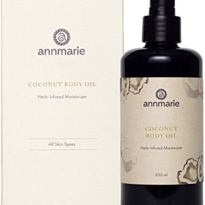 Annmarie Skin Care Coconut Body Oil - Herb-Infused Moisturizer