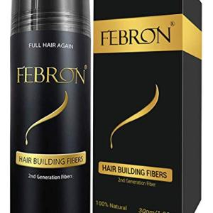 FEBRON Hair Building Fibers - Hair Loss Concealer For Thinning Hair