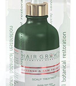Hair Growth Botanical Renovation Anti-hair Loss Scalp Treatment Hair Oil