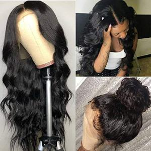 ISEE Hair Young 150% Density Brazilian Body Wave Lace Front Wig Glueless