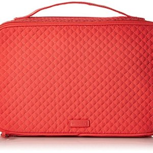 Vera Bradley Iconic Large Blush & Brush Case, Microfiber