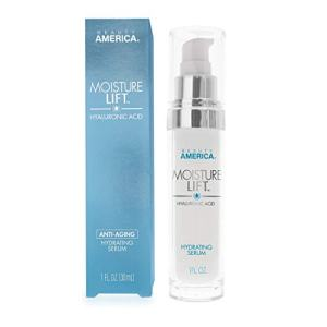 Beauty America Moisture Lift, Anti-Aging, Hyaluronic Acid, Hydrating Serum