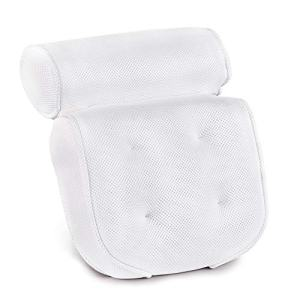 Bath Pillow-Luxury Spa Bathtub Cushion Head,Neck,and Shoulder Support